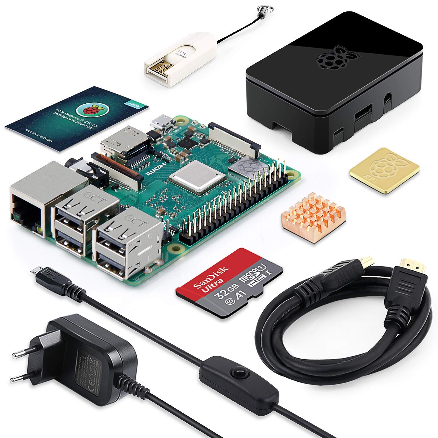 Raspberry Pi 3B+ kit original